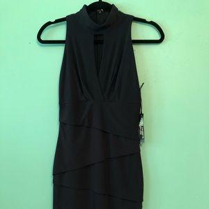 NWT Black House White Market evening halter dress